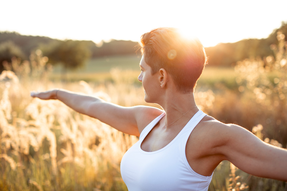 Yoga Marion Schaffer Virabhadrasana 2